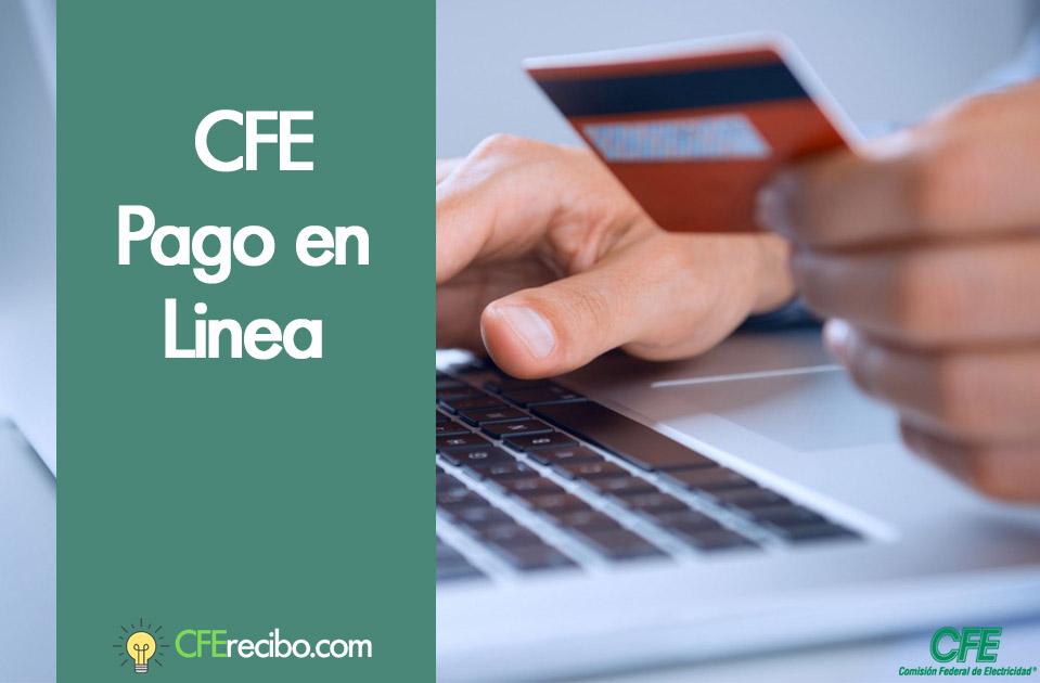 Pagar recibo CFE desde internet