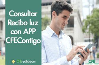 App CFE contigo