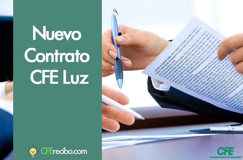 Contrato CFE México