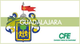Sucursales CFE en la ciudad de Guadalajara