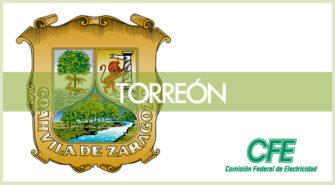 Sucursales CFE en ciudad Torreón