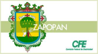 Sucursales CFE en la ciudad de Zapopan
