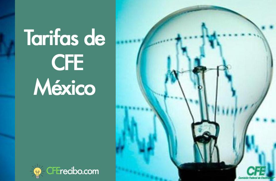 Precio de la luz CFE México