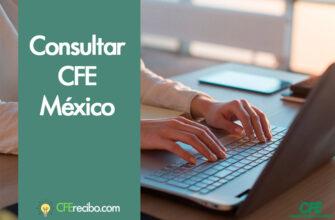 CFE recibo mexico