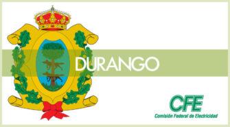 Sucursales CFE en Durango