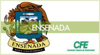 Sucursales CFE en Ensenada