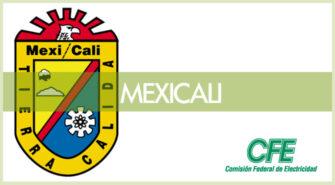 Sucursales CFE en Mexicali
