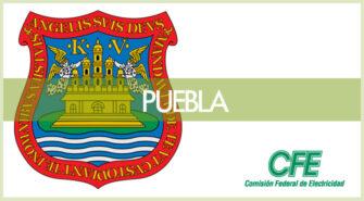 Sucursales CFE en Puebla