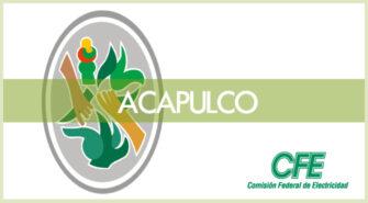 sucursales CFE recibo en Acapulco